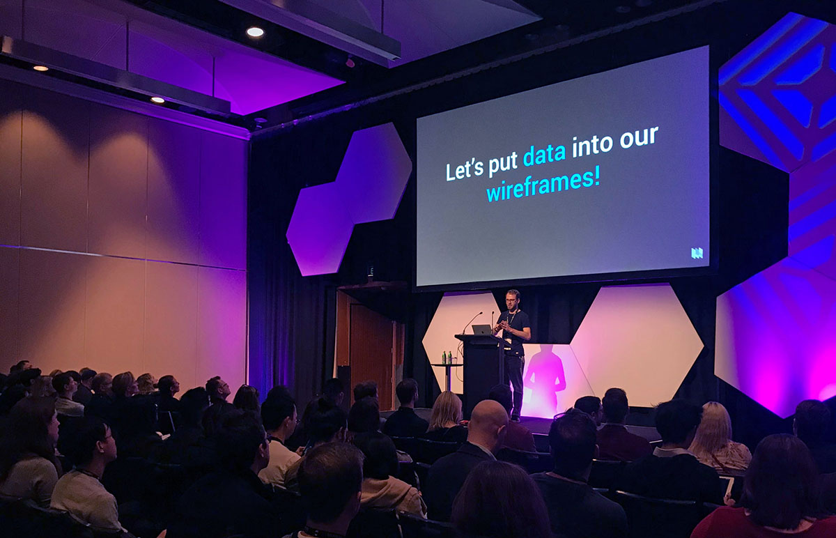 Talk at UX Australia 2019